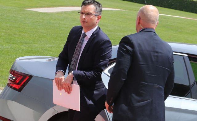 Po dogovoru s koalicijo se bo predsednik vlade Marjan Šarec prav gotovo moral uskladiti tudi še s pogodbeno partnerico Levico. FOTO: Tomi Lombar/Delo