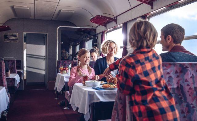 Potovanje z vlakom je vedno pravo doživetje. Foto: Slovenske železnice