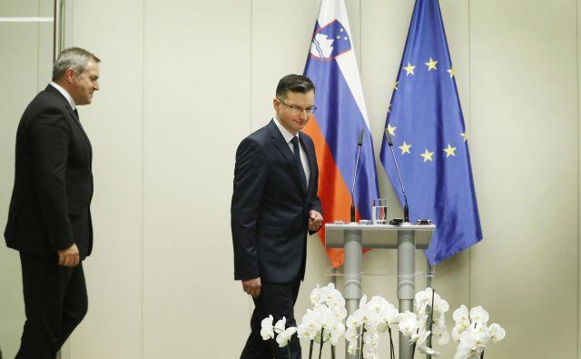 Marjan Šarec in SD Dejana Židana sta odkrito pozvala k premisleku in novim pogajanjem o prodaji Abanke. FOTO: Leon Vidic