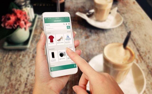 Nakupovanje po spletu raste neustavljivo hitro, potrošniki tako nakupujejo predvsem oblačila in športno opremo. Foto Shutterstock