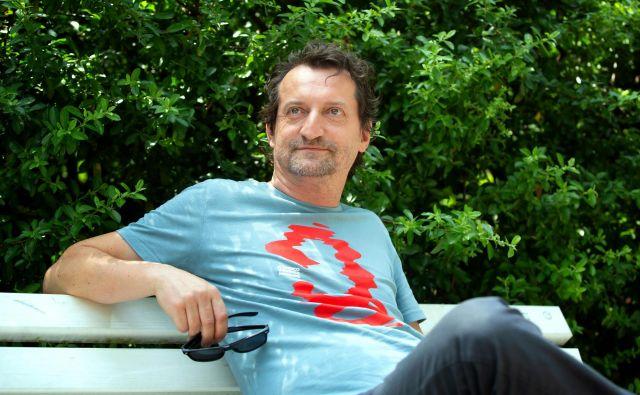 Bogdan Benigar, Posavec, ki Ljubljano zalaga in spoznava z drugačnimi (z)godbami. FOTO: Nada Žgank