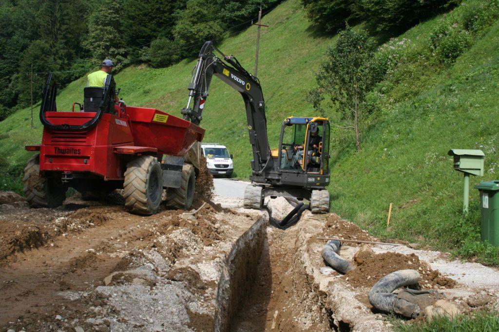Po novih vodovodnih ceveh bo tekla dražja voda