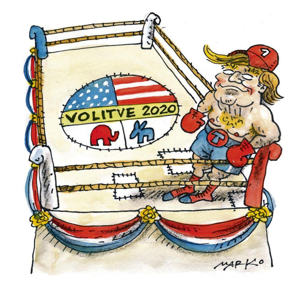 Sijaj in sence ZDA pod Trumpom