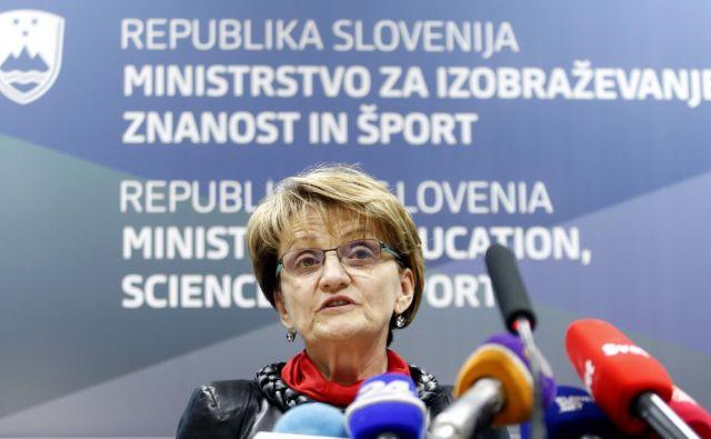 Stanka Setnikar Cankar je predsedniku vlade ponudila svoj odstop marca 2015. Foto Matej Družnik