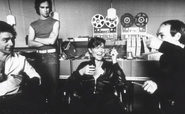 David Bowie v studiu Hansa<br /> Foto: arhiv studia