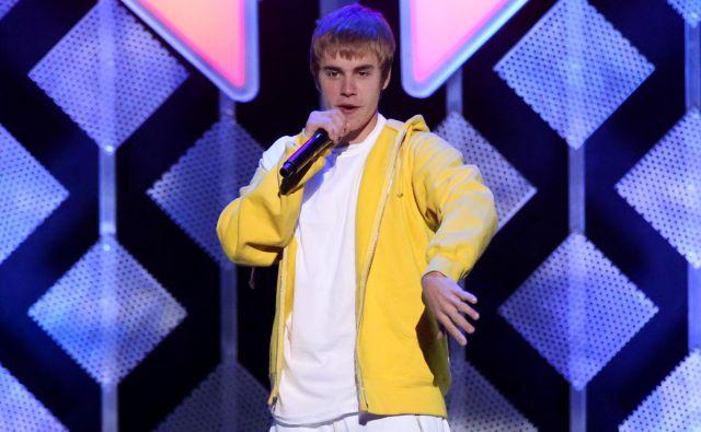Justin Bieber – ko zmanjka izzivov, nastopi izzivanje.<br /> FOTO: Reuters