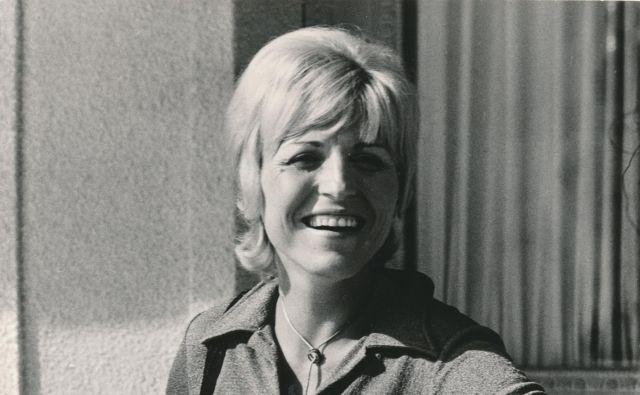 Za mnoge bo vedno ostala prva dama slovenske zabavne glasbe.<br /> Fotografiji Egon Kaše