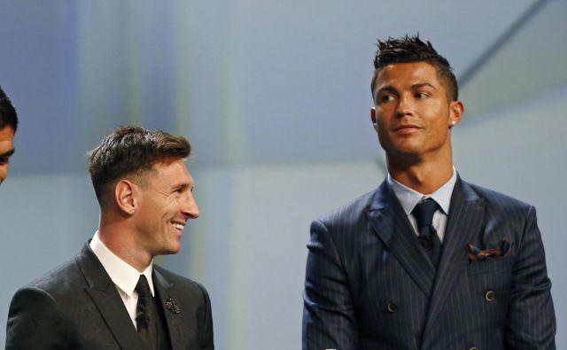Lionel Messi zasluži več kot Cristiano Ronaldo. FOTO: Reuters