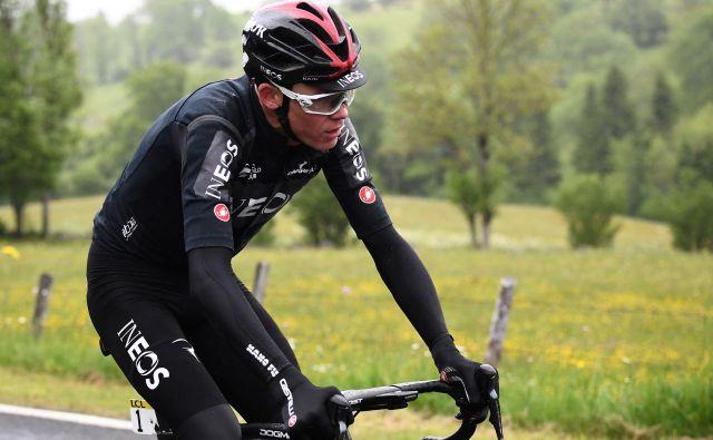 Chris Froome je v tej sezoni vse podredil nastopu na Touru, zdaj bo ostal brez glavnega cilja sezone. FOTO: AFP