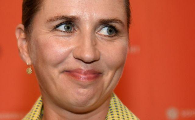 Mette Frederiksen je spodnesla skrajno desnico tako, da ji je ukradla politični program.<br /> FOTO: Reuters