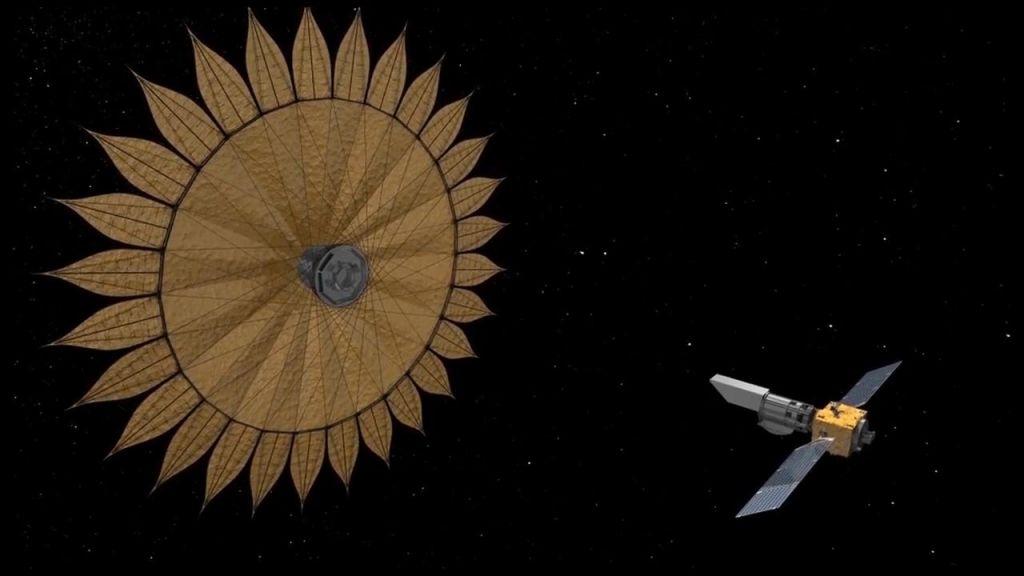 FOTO:Futuristična sončnica za iskanje planetov (VIDEO)