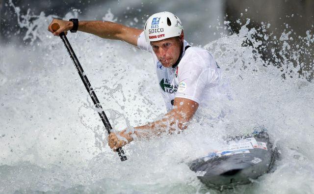 Benjamin Savšek je bil znova najhitrejši Slovenec. FOTO: Matej Družnik