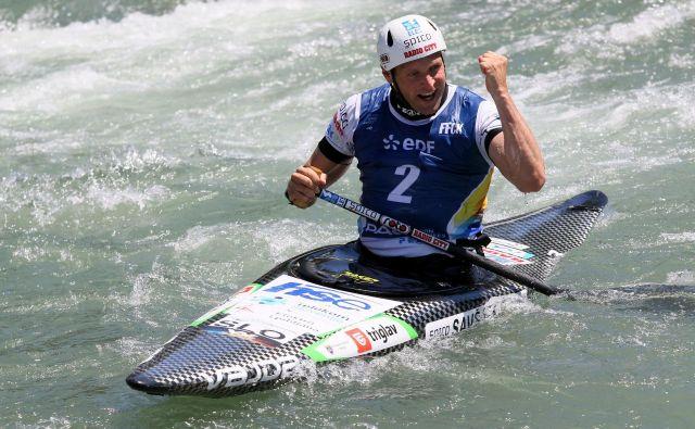 Benjamin Savšek želi veslati, kot je Pauju. FOTO: Nina Jelenc/KZS