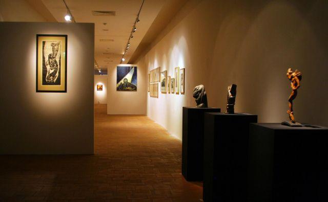 Razstava <em>Obrazi ekspresionizma</em> bo v Kutni Hori odprta do 15. septembra. Foto Galerija Božidar Jakac