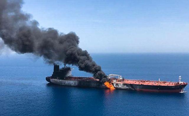 Do incidenta sicer prihaja v času zaostrovanja napetosti med ZDA in Iranom. FOTO: AFP
