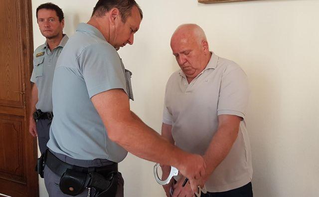Silvo Palčič bo kmalu izvedel, kakšno usodo mu bo namenilo sodišče. FOTO: Tanja Jakše Gazvoda