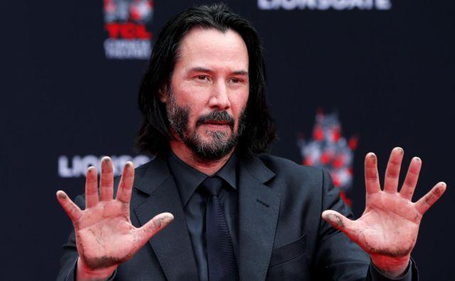 Štiriinpetdesetletni igralec je zaslovel leta 1989 s filmom <em>Čudovita pustolovščina Billa in Teda</em>. FOTO: Mario Anzuoni/Reuters