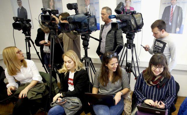 Zavzemanje za izboljšanje položaja novinarjev in spoštovanje zakonodaje ter kolektivnih pogodb, ki urejajo njihov status, ne glede na obliko zaposlitve, bo tudi v prihodnje vodilo reprezentativnega sindikata za novinarski poklic v državi. Foto Roman Šipić