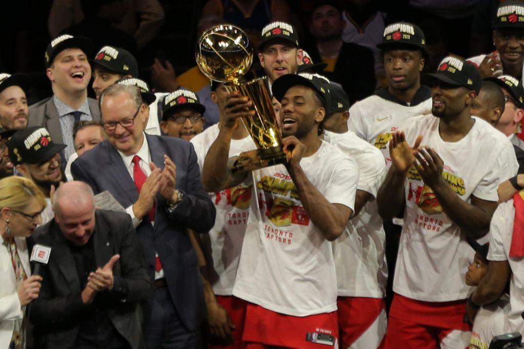 FOTO:Toronto v Oaklandu slavi prvi naslov prvakov lige NBA