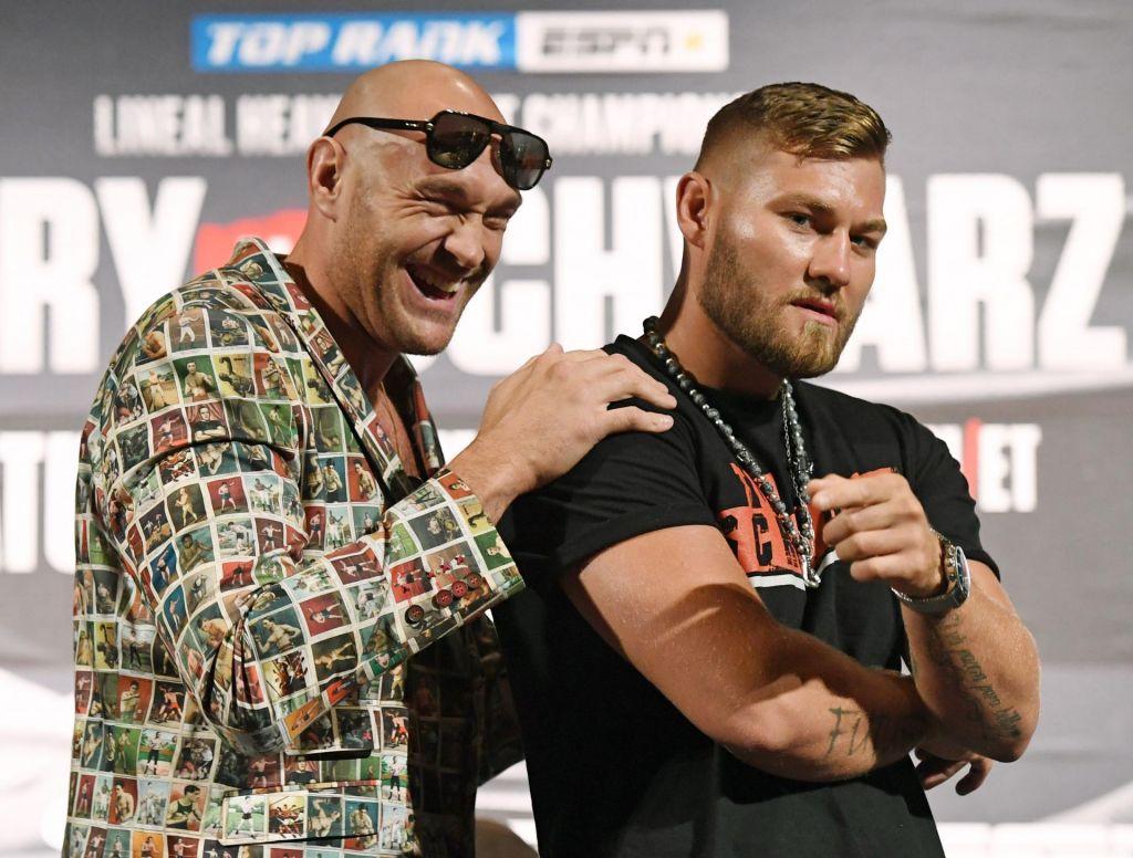 Tyson Fury namerava Zavčevemu kolegu izprašiti zadnjico in zlomiti čeljust