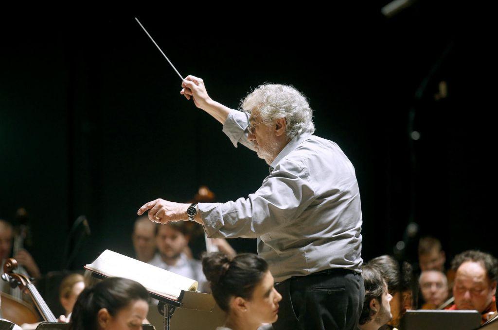 FOTO:Plácido Domingo prvič v Sloveniji kot dirigent