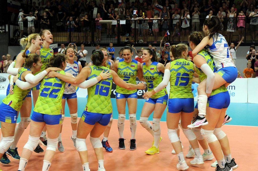 Slovenke v finalu srebrne evropske lige