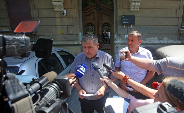 Izjava PU Maribor v primeru poskusa umora sodnice Daniele Ružič FOTO: Tadej Regent