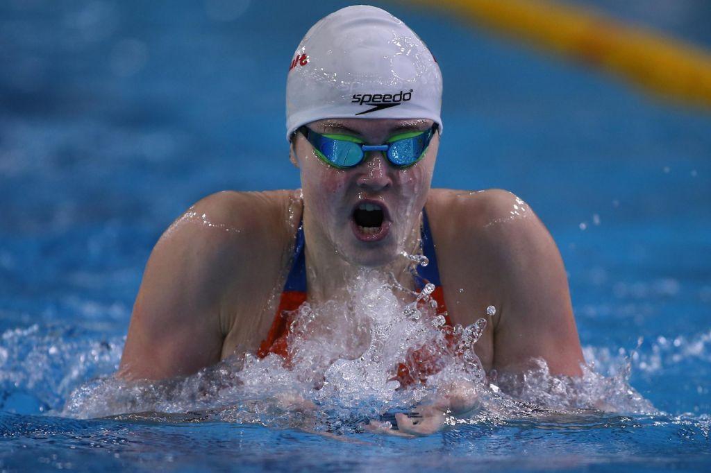 Katja Fain prvo ime kranjskega plavalnega mitinga