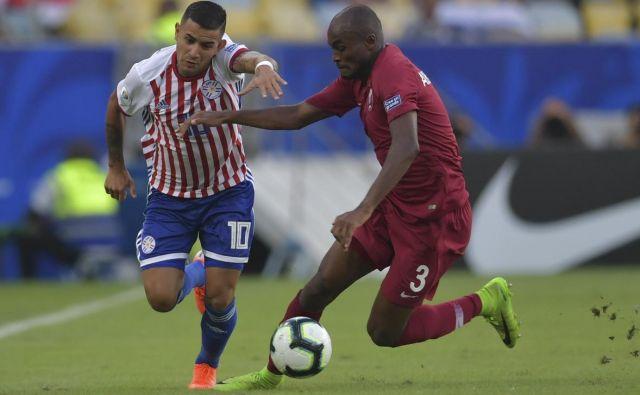 Za nogometaše Paragvaja je remi s Katarjem manj, kot so pričakovali. FOTO: AFP