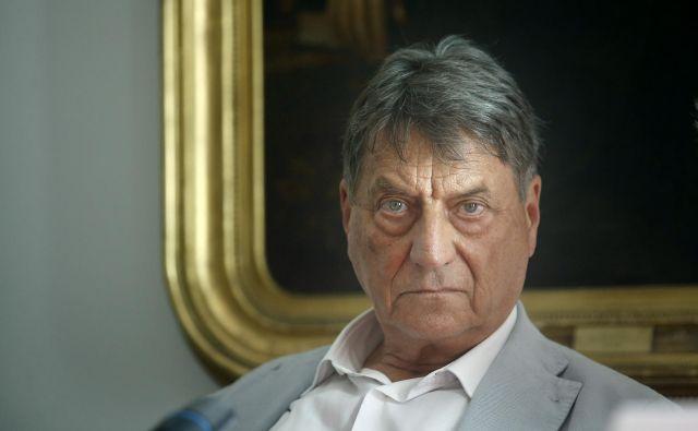 Claudio Magris je pred nedavnim v Ljubljani govoril o svojem romanu <em>Brazgotine</em>.<br /> Foto Blaž Samec