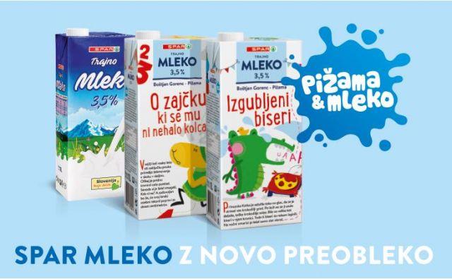 Spar mleko Foto Spar