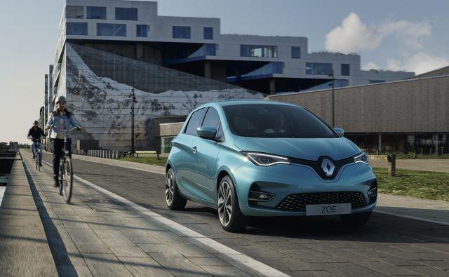 Renault zoe se poslej ponaša s precej večjiim dosegom. Foto Renault