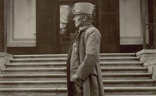 General Boroević. Foto K.u.k. Kriegspressequartier, Lichtbildstelle - Wien Önb