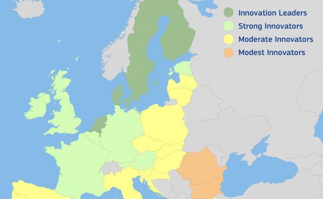 Slovenija ni več v družbi držav močnih inovatork. Foto Evropska Komisija