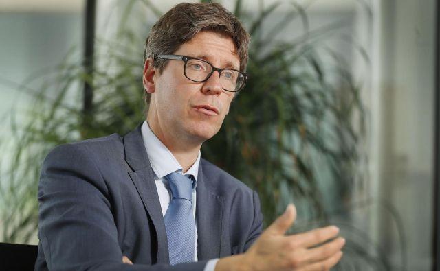 Reforme so zelo pomembne za oblikovanje boljšega okolja za gospodarstvo in boljših priložnosti za naše otroke, pravi Maarten Verwey, direktor službe za podporo strukturnim reformam v evropski komisiji. Foto Leon Vidic