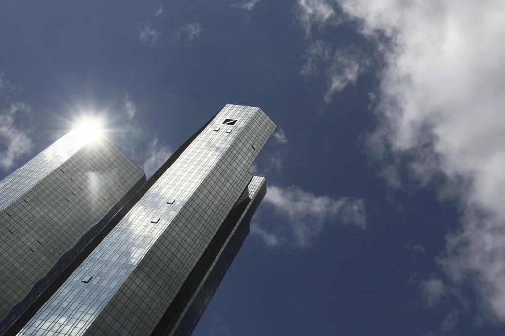 Deutsche bank nad težave s slabo banko