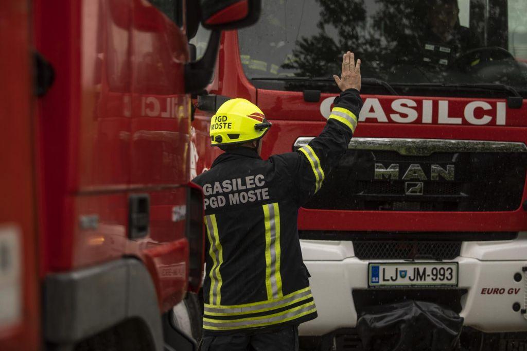 Sum, da je požar posledica kaznivega dejanja