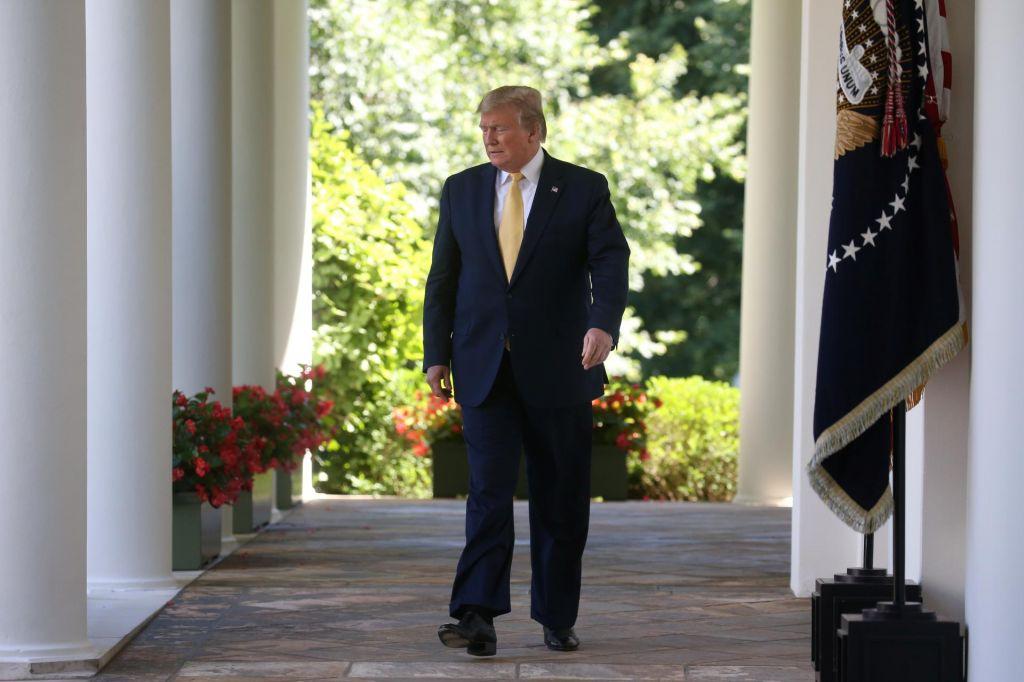 FOTO:Trump v boj za drugi predsedniški mandat