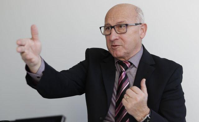 Bogdan Gabrovec: OKS je za letos prvotno načrtoval 6,7 milijona evrov prihodkov, po rebalansu pa jih bo<strong> </strong>7,15 milijona. FOTO: Leon Vidic