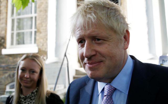 Boris Johnson je tudi v drugo potrdil znatno prednost pred zasledovalci. FOTO: REUTERS/Henry Nicholls