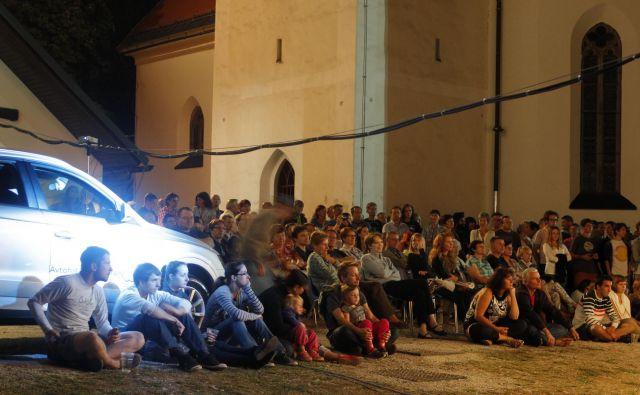Pungert je lepo prizorišče za kulturno in glasbeno dogajanje. FOTO: Tomi Lombar