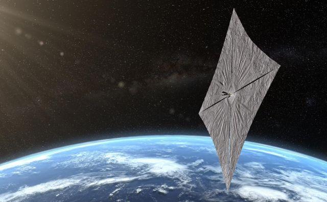 Takšna jadra bodo morda čez nekaj let osvajala medzvezdni prostor. FOTO: Planetary Society
