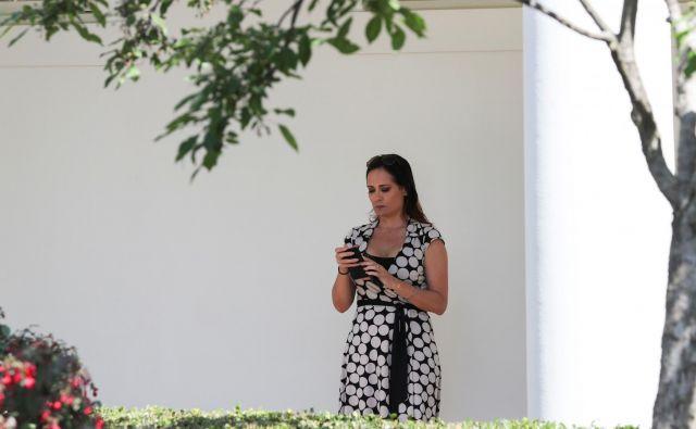 Stephanie Grisham skrbi za javno podobo prve dame. FOTO: Jonathan Ernst/Reuters
