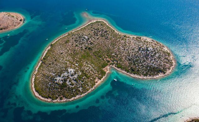 Na svetu so menda le štirje otoki v obliki srca.