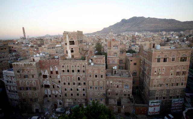 Jemen, kjer savdski monarhiji ne gre vse po načrtih, je bil le trening za najboljše in najdražje orožje. FOTO: Mohamed Al-sayaghi/Reuters