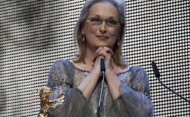Večna Meryl Streep prav danes praznuje sdemdeseti rojstni dan. Foto Reuters Reuters