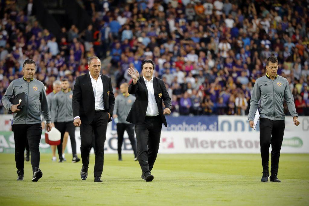 FOTO:Ugoden žreb za Slovence v Nyonu: Tudi avgusta bodo igrali v Evropi