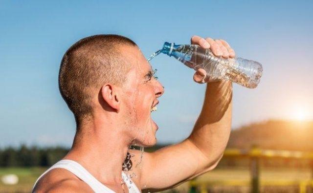 Tek v vročini Foto Shutterstock