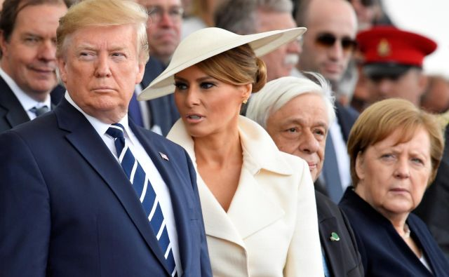 »Obama je bil bolj zmeren in pragmatičen, zato sta z Angelo Merkel zelo dobro sodelovala. Pri Trumpu to ni mogoče,« meniHenning Riecke. FOTO: Toby Melville/Reuters