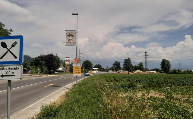 Doslej je promet na delovišču potekal brez posebnosti. FOTO: Janez Porenta
